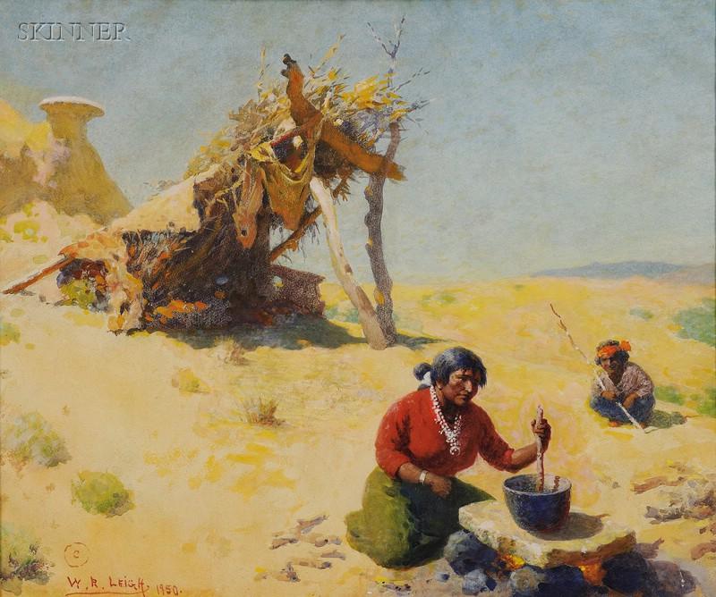William Robinson Leigh (American, 1866-1955)      Summer Hogan