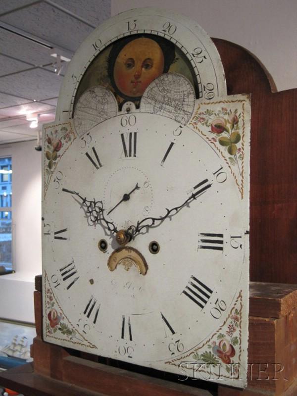 Federal Mahogany Tall Clock