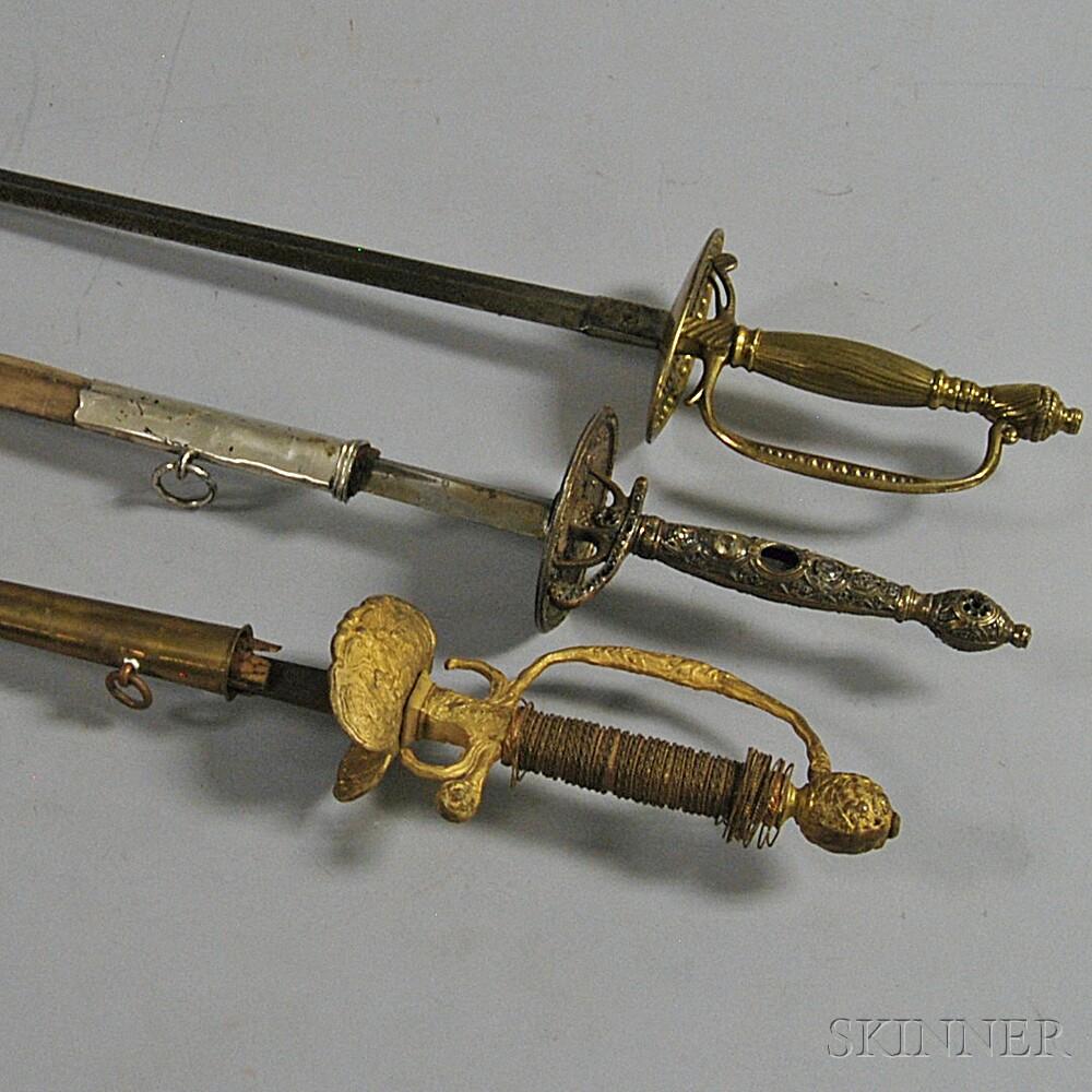 Three Small Swords