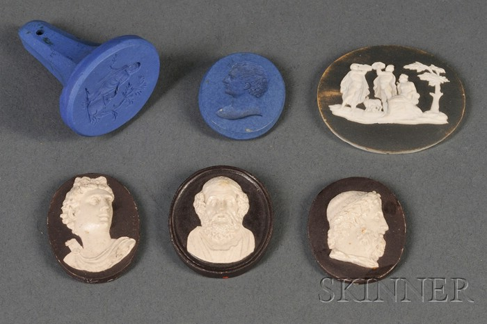 Six Assorted Wedgwood and Related Medallions