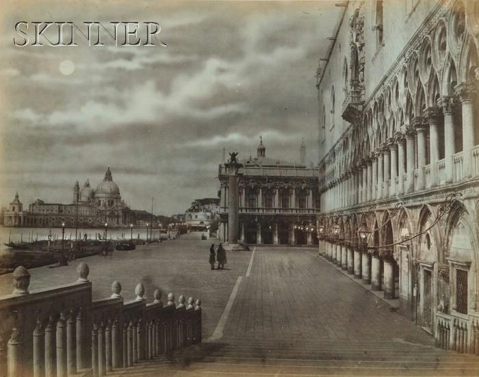 Pietro Bertoja (Italian, 1828-1910)      Lot of Five Views of Venice.