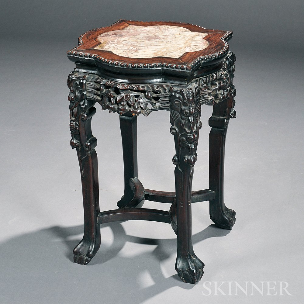 Marble-top Stand