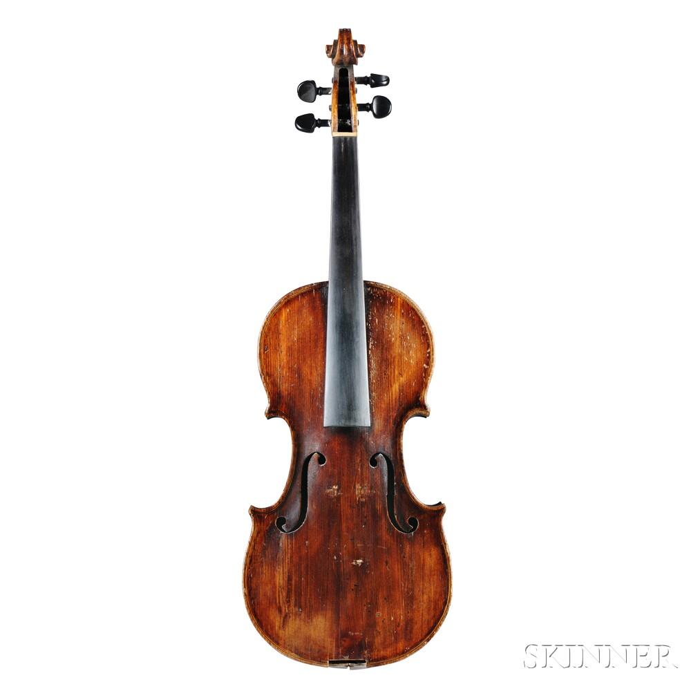 Violin, British School, c. 1800