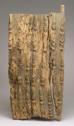 African Carved Wood Door