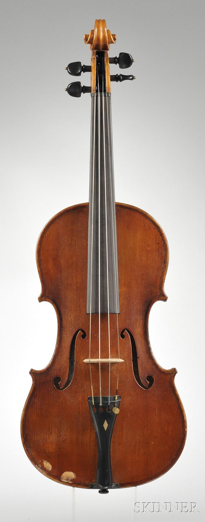 Italian Violin, Workshop of Mario Gadda, Mantua, 1986