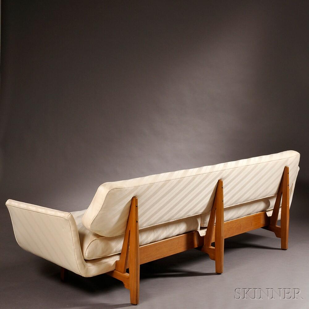 Edward Wormley For Dunbar Gondola Sofa