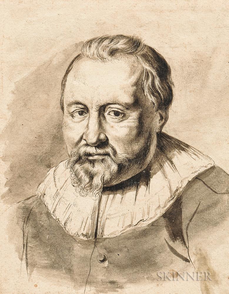 Dutch School, 17th/18th Century    Bust Portrait of a Man
