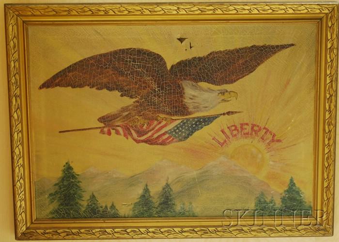 American School, 20th Century      LIBERTY.