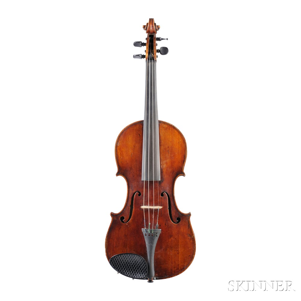 German Violin, c. 1900-10
