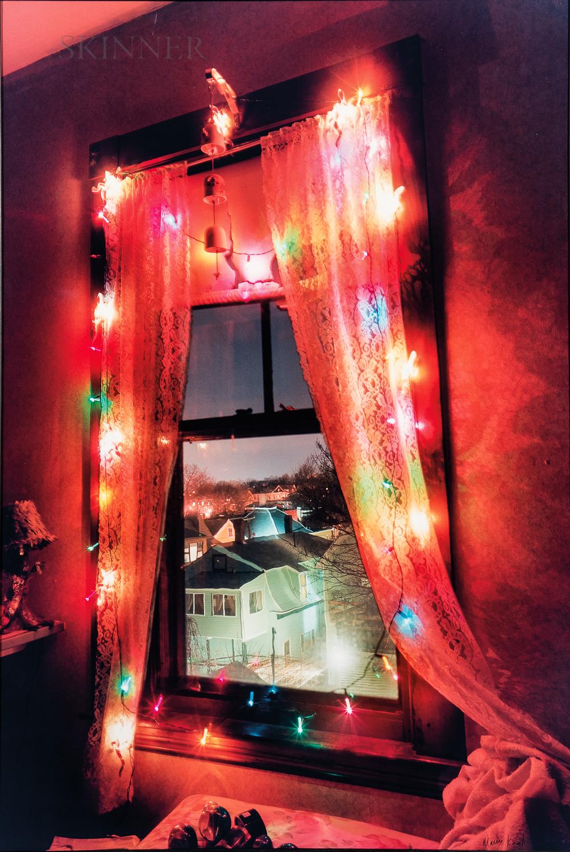 Mary Kocol (American, b. 1962)      Christmas Window, Somerville, MA