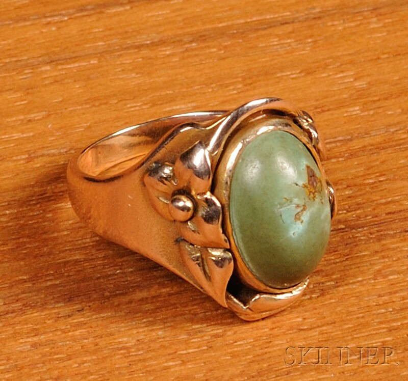 Kalo Turquoise Ring