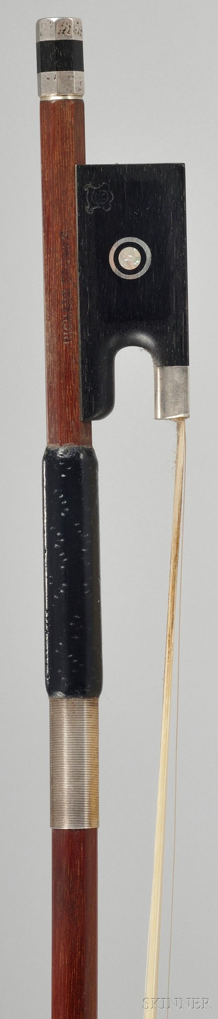Silver Mounted Violin Bow, Richard Grunke