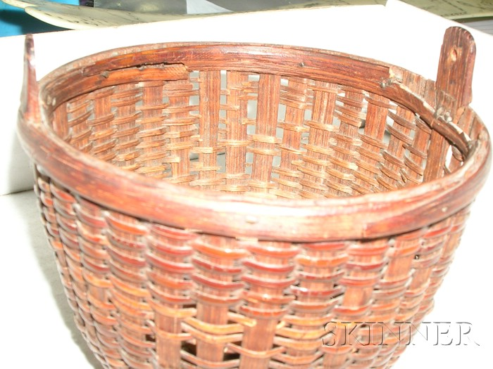 Miniature Round Nantucket Basket