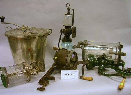 Group of Eleven Mechanical Kitchen Items