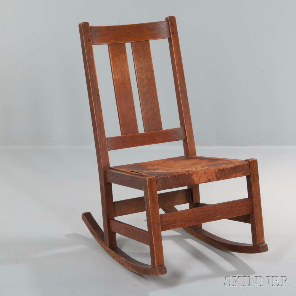 L. & J.G. Stickley Rocking Chair