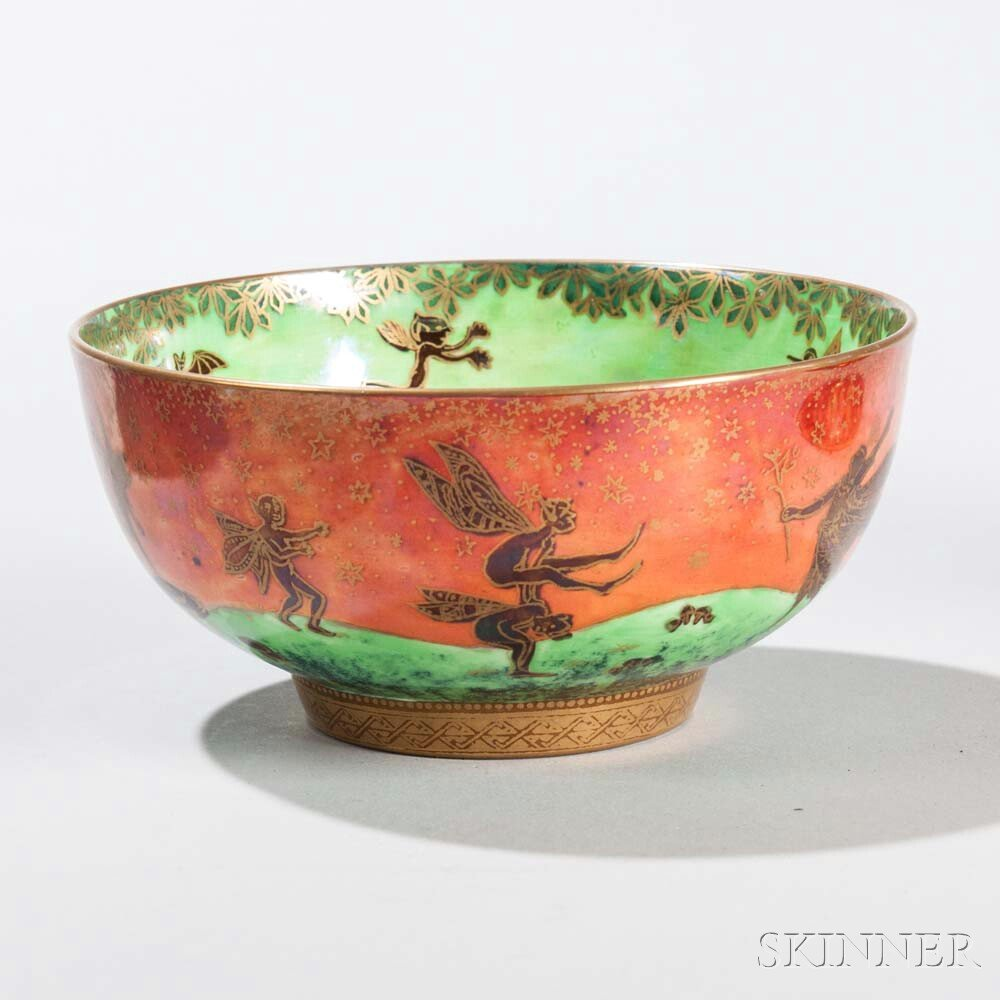 Wedgwood Flame Fairyland Imperial Bowl