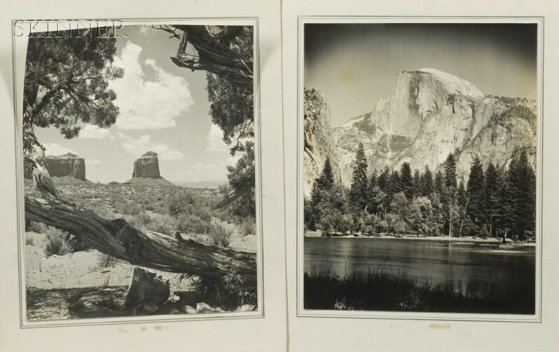 Robert D. Wild (American, 1918-1982)      Two Western Views: California