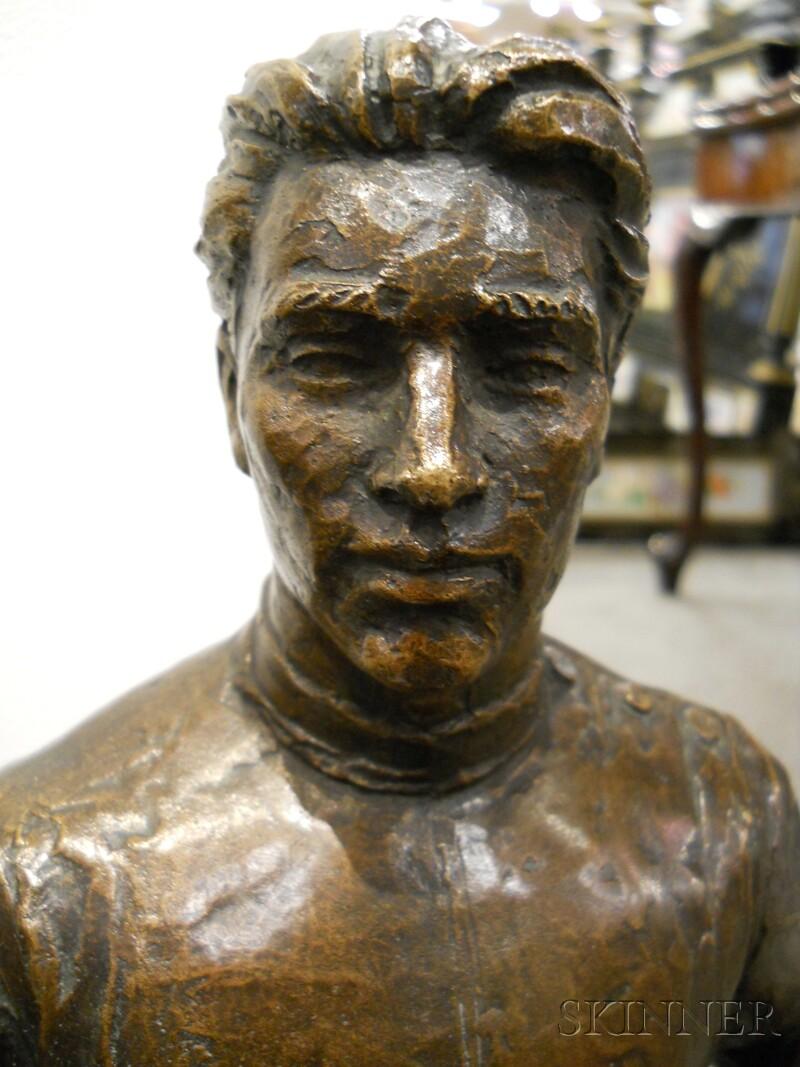 Bronze Fencer
