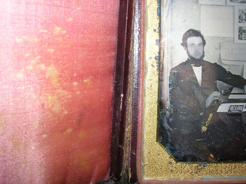 Half Plate Daguerreotype Portrait of an Architect at Work in His Office