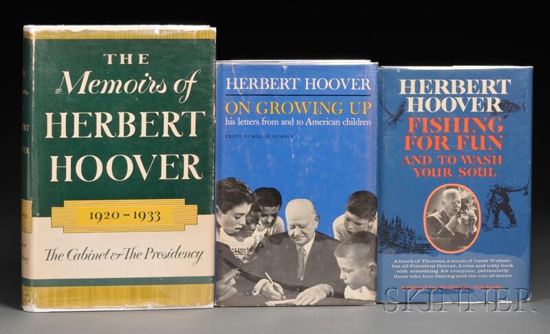 Hoover, Herbert (1874-1964), Signed Copies