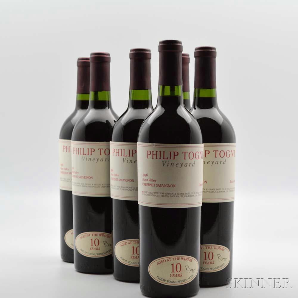 Philip Togni Cabernet Sauvignon 1996, 6 bottles
