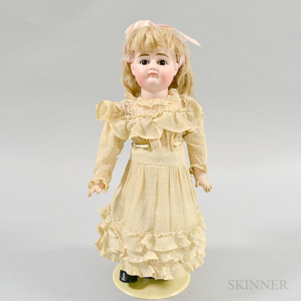 Bisque Head Doll