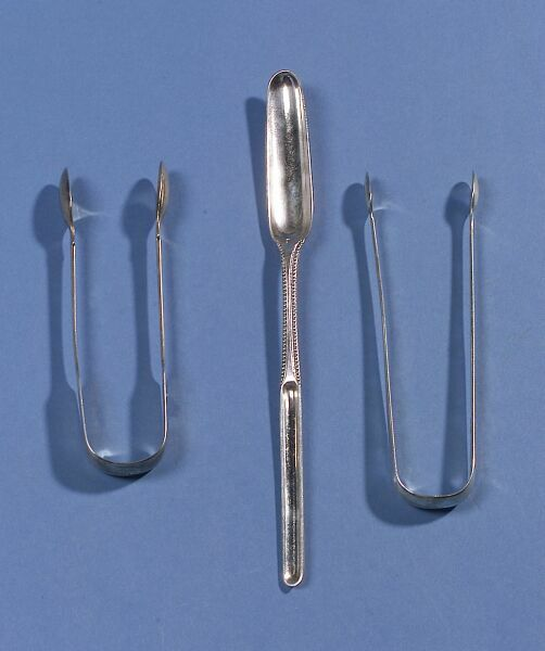 Three Georgian Silver Flatware Items