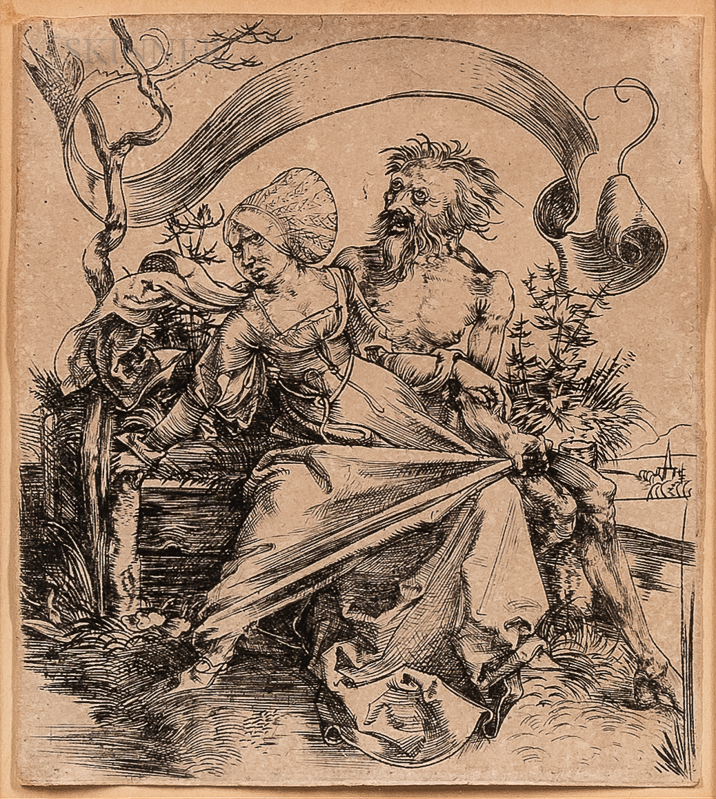 Albrecht Dürer (German, 1471-1528)      The Ravisher