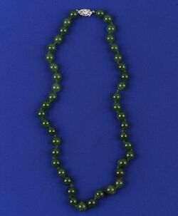 Strand of Nephrite Jade Beads