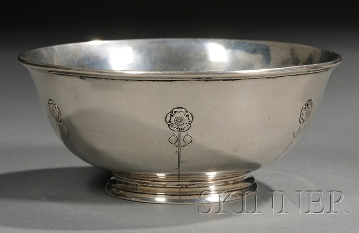 Arthur Stone Footed Bowl