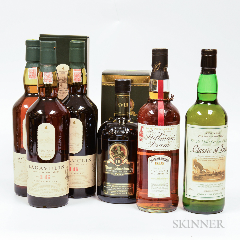 Mixed Islay, 6 750ml bottles