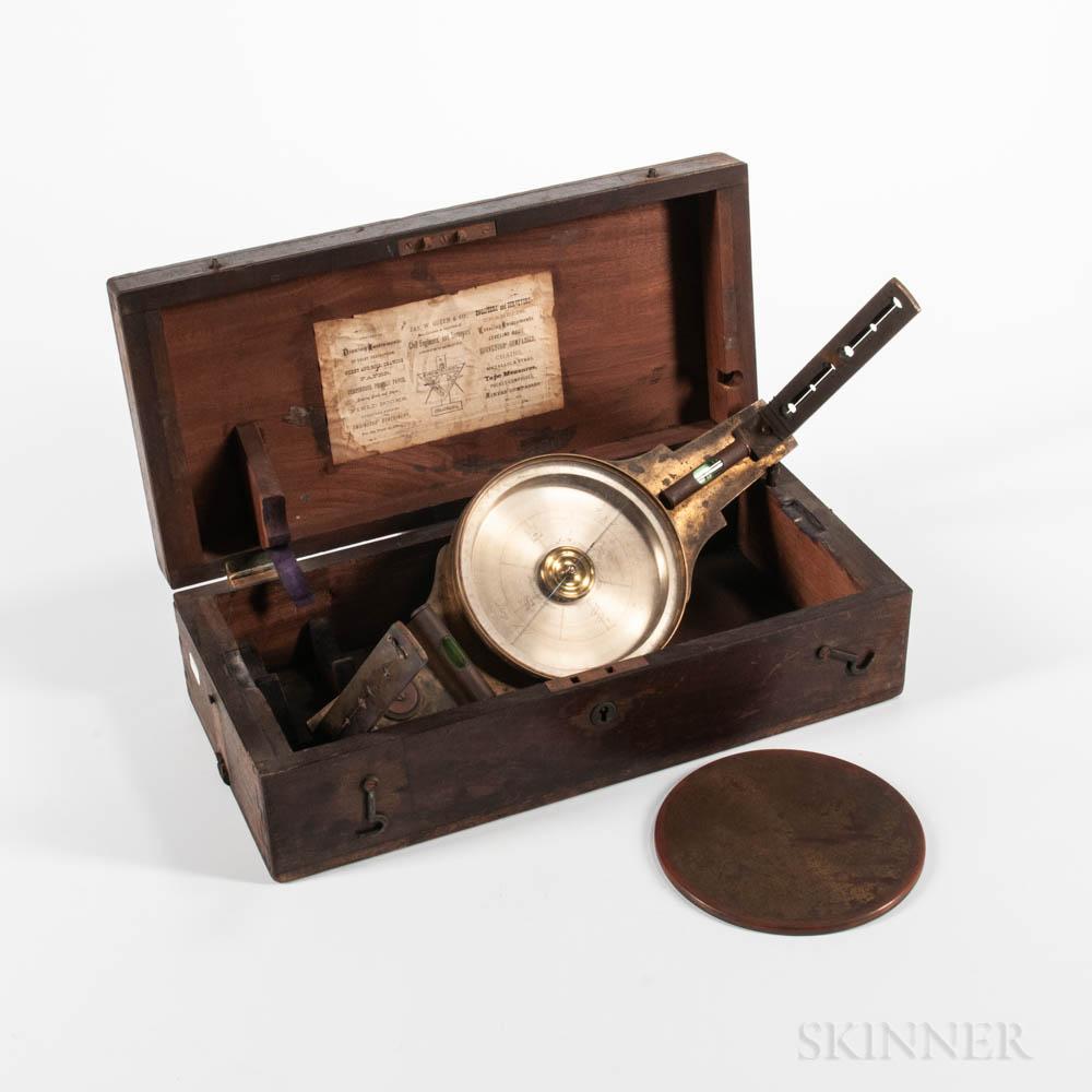 W. & L.E. Gurley Surveyor's Compass