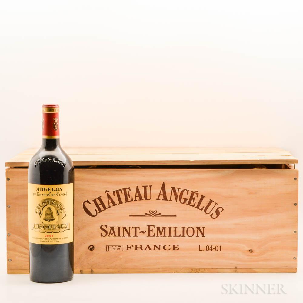 Chateau Angelus 2004, 10 bottles