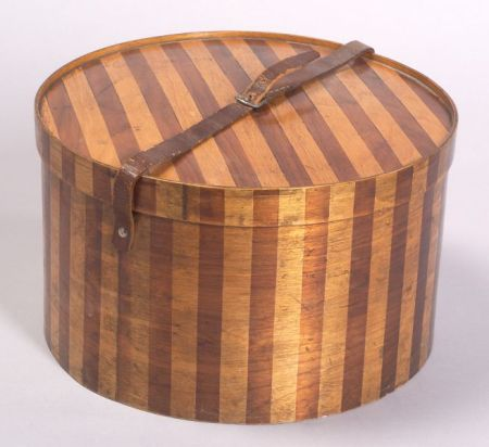 Russian Wood Hatbox