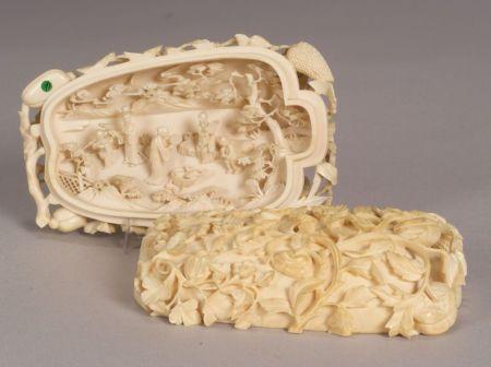 Carved Ivory Melon
