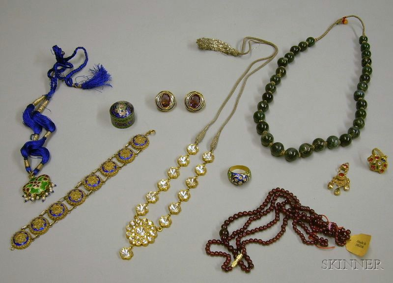 Group of Indian Jewelry