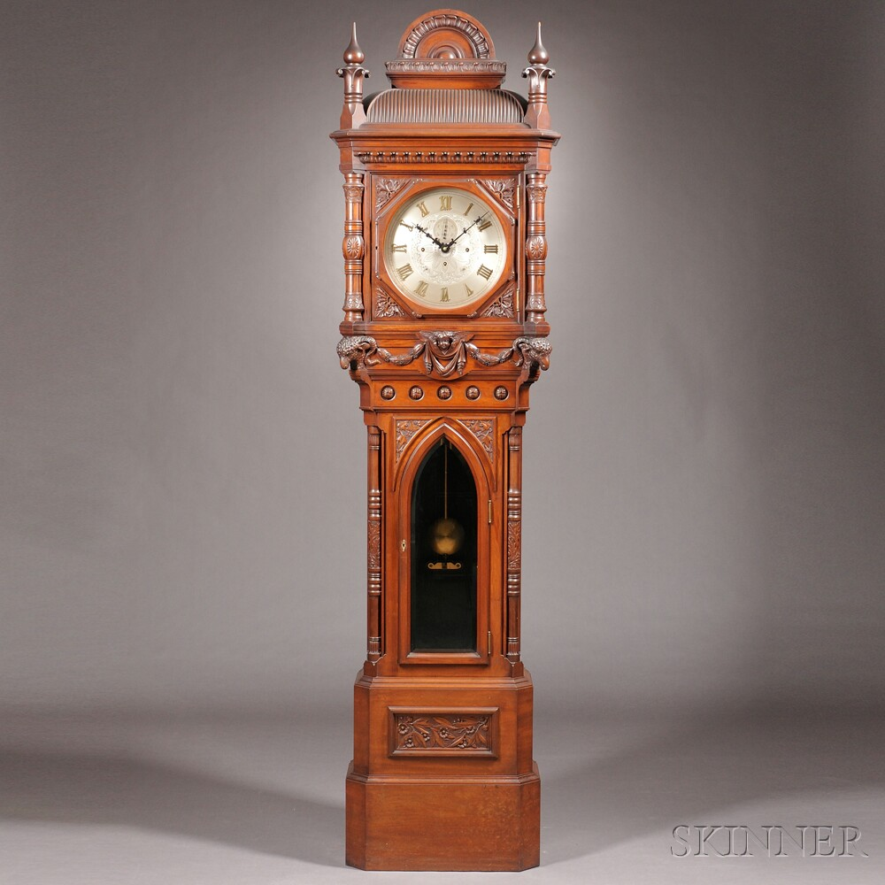 E. Howard & Company No. 80 Renaissance Revival Tall Clock