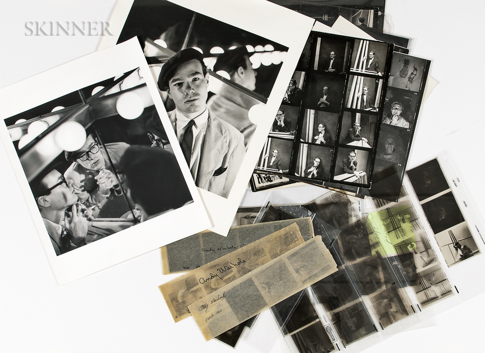 Otto Fenn (American, 1914-1993)      Group of Negatives, Contact Sheets, and Prints