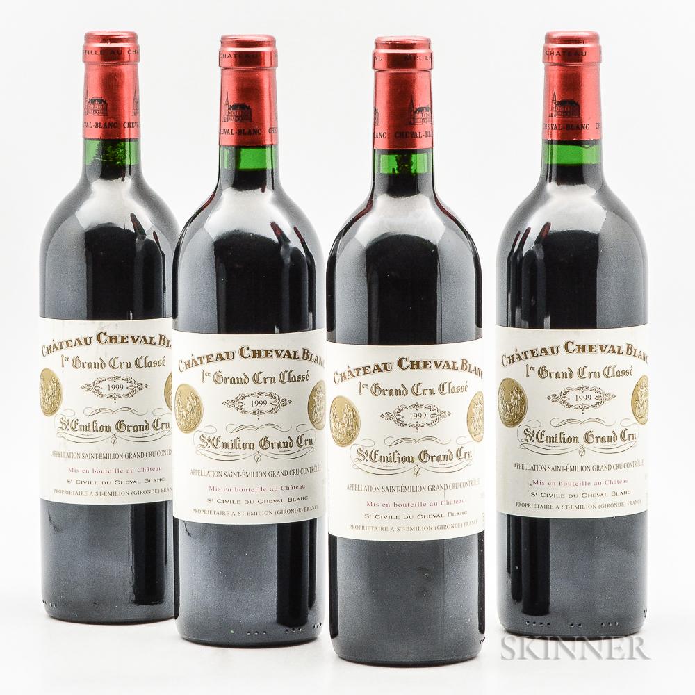 Chateau Cheval Blanc 1999, 4 bottles