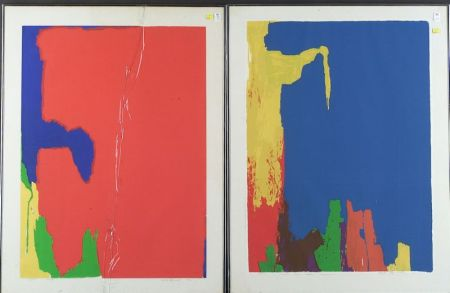 Jack Larned (American, b. 1920)  Lot of Two Abstracts.
