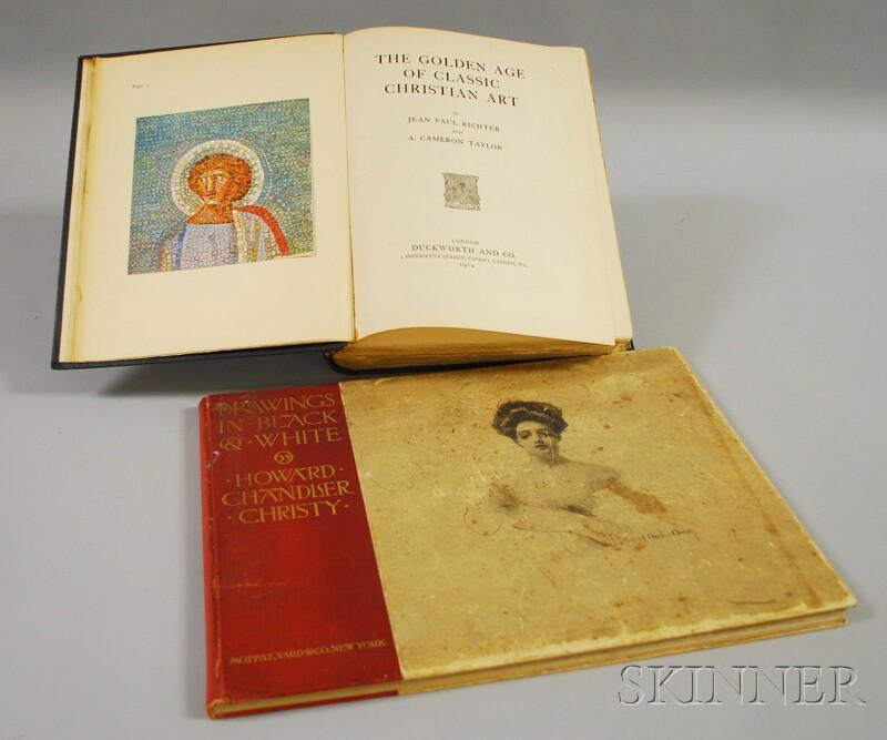 Art Books, Two Volumes: