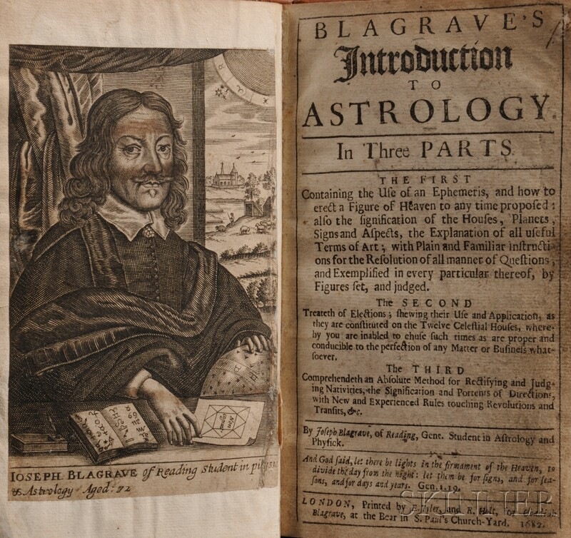 Blagrave, Joseph (1610-1682) Blagrave's Introduction to Astrology
