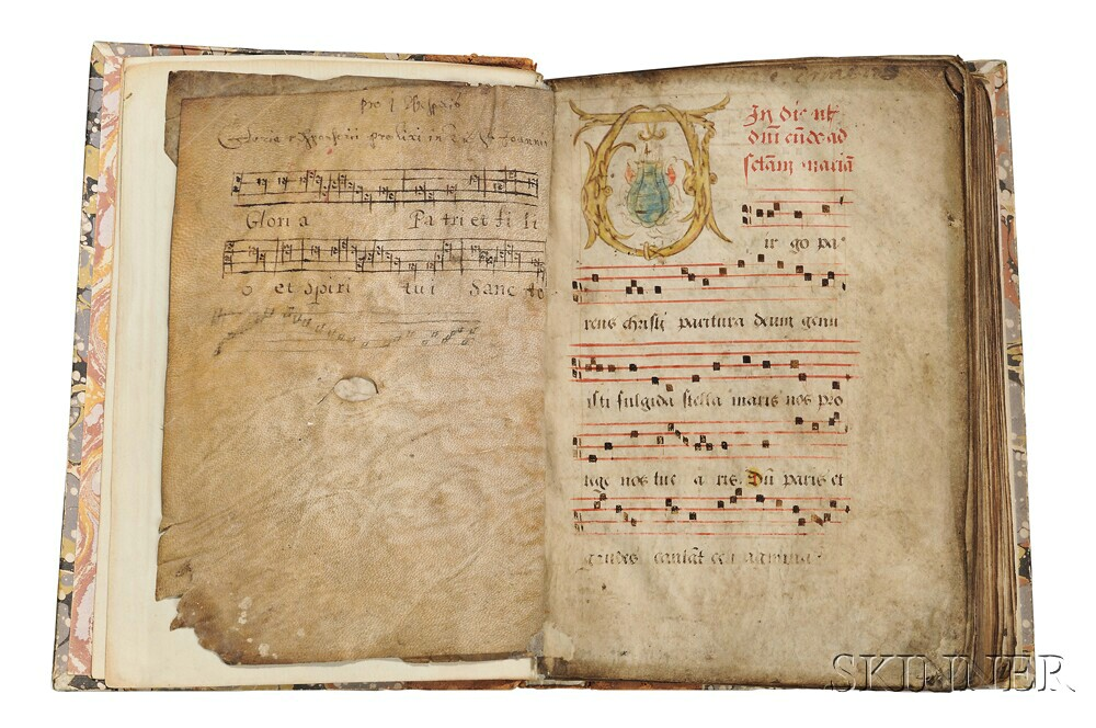 Antiphonary, France, 15th Century.