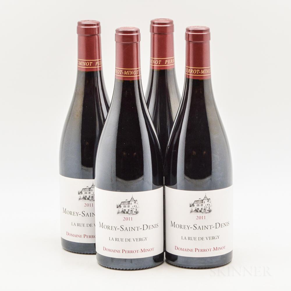 Perrot Minot Morey Saint Denis En La Rue de Vergy 2011, 4 bottles