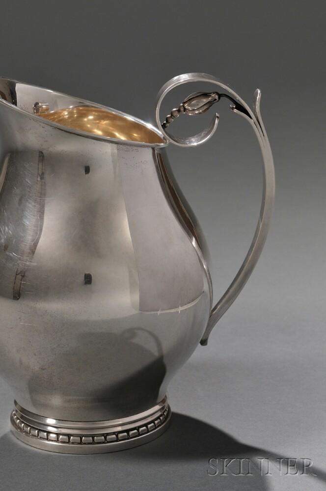 alphonse la paglia for georg jensen pitcher sale number. Black Bedroom Furniture Sets. Home Design Ideas