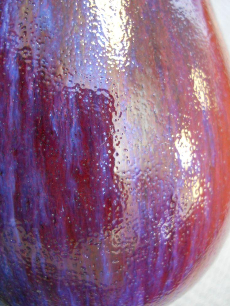 Flambe-glazed Vase