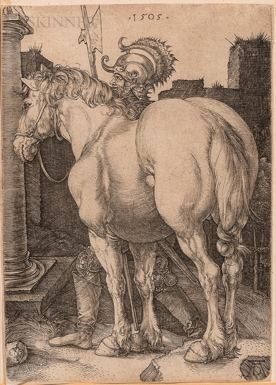 Albrecht Dürer (German, 1471-1528)      The Large Horse
