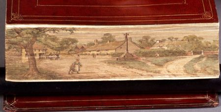 (Fore-Edge Painting)