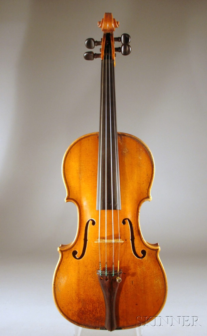 Dutch Violin, Johannes Cuypers, The Hague, c. 1790