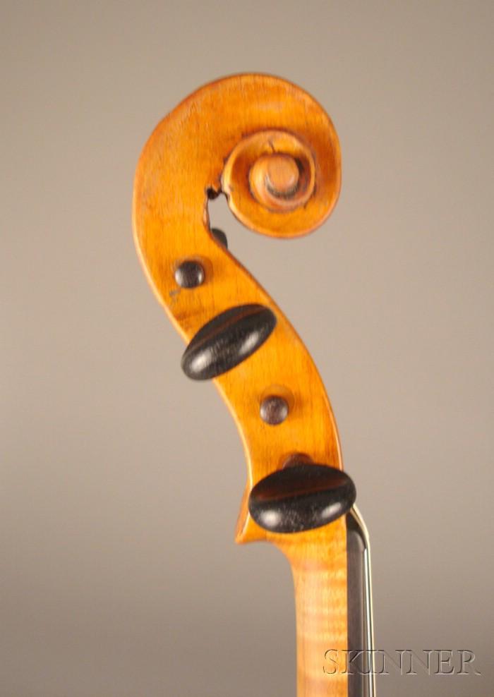 Dutch Violin, Johannes Cuypers, The Hague, c. 1790